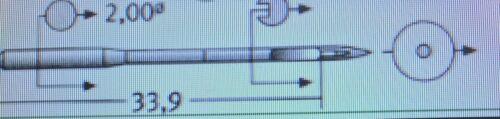 18 DPX5 Máquina de Coser Industrial Agujas de punto regular Schmetz casi como nuevo:110 Tamaño