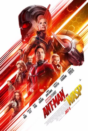 "2018 Movie Silk Fabric Poster 11/""x17/"" 24/""x36/"" Ant-Man and the Wasp"