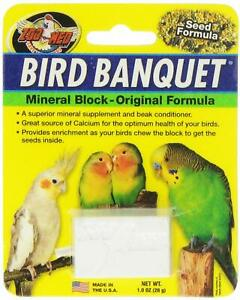 (3 Pack) Zoo Med Labs Supplement Bird Banquet Block Small Healthy