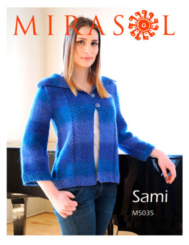 Mirasol Sami Pattern M5035 Wide collar jacket