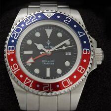 Ticino Traveler submariner seadweller  Diver Watch – Hangzou 6460 Movement