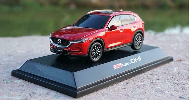 1 43 Changan Mazda Original manufacturer 2018 MAZDA CX-5 plastic car model