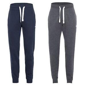 Trespass-Carson-Mens-Casual-Jogging-Bottoms-Cotton-Lightweight-Navy-Trousers