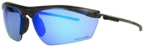 Rawlings Boy/'s Youth 1902 Athletic Sunglasses Half-Rim Black//Blue Mirror Lens