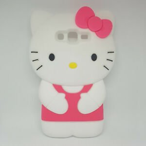 5f57978dd2f La imagen se está cargando Funda-Carcasa-Silicona-3D-Hello-Kitty-Samsung- Galaxy-