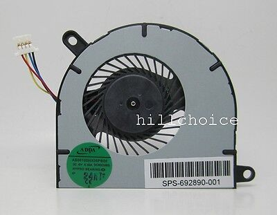 NEW for HP Envy Spectre XT pro 13 XT 13-2000 13t-2000 cpu cooling fan 692890-001