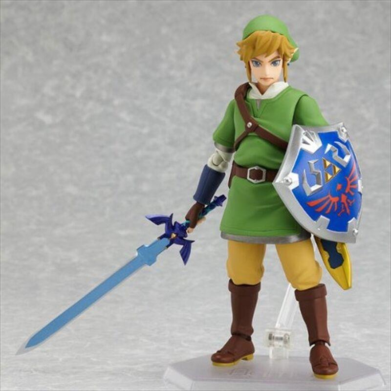 Max Factory Figma Legend of Zelda Skyward Sword Link Action Figure Anime