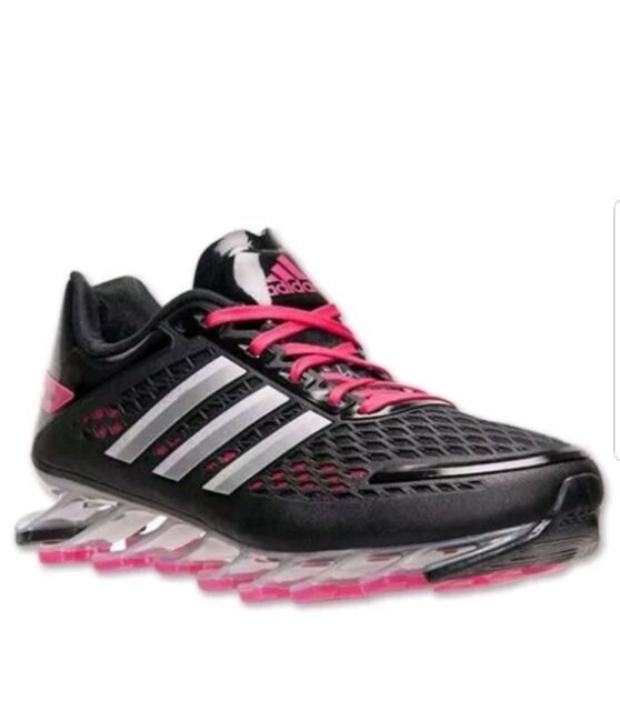 New Women s 8.5 adidas Springblade Razor Running Shoes  180 msrp G97687  Black 701c7a1096