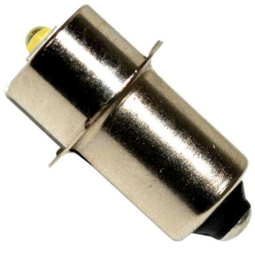 2-Pack Puissant Ampoule 3W LED pour Makita BML185 ML140-ML143 ML184 Lampe Torche