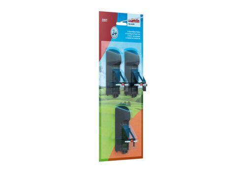MÄRKLIN  23977-3 Stück  Kunststoffgleis-Prellbock  #NEU in OVP#