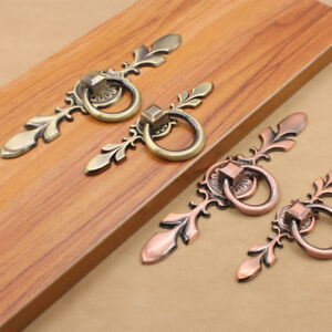 Simple 1x Antique Bronze Dresser Cabinet Knob Drawer Furniture Kitchen Door Pull Handle