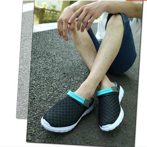 Summer Fashion Hommes Pantoufles Sport Respirant Sandales Casual trou Plage Chaussures