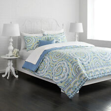 Chic Home Bethany 5 Piece Comforter Set Queen Blue For Sale Online Ebay