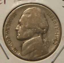 1942-S 5C Jefferson Nickel