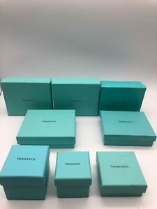 Tiffany-amp-Co-genuine-Jewelry-Outer-box-Set-of-8-Color-Light-blue-0626030