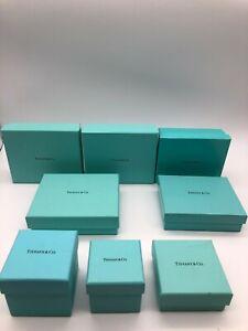 Tiffany-amp-Co-Original-Joyeria-Exterior-Caja-Juego-De-8-Color-Azul-Claro-0626030