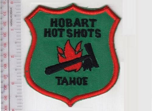 Hot Shot Wildland Fire Crew California Hobart Hotshots Tahoe National Forest Hob