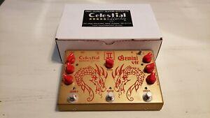 Charmant Celestial Gemini Ii 2 Vtr Vibrato Reverb Vibrato Leslie Simulateur Tons Shipworl-afficher Le Titre D'origine