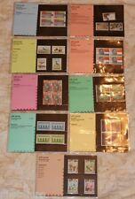 Nederland Complete jaargang 1984 PTT mapjes - 9 mapjes postprijs ƒ 22,30
