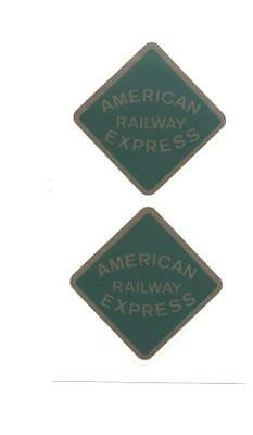 KEYSTONE AMERICAN RAILWAY EXPRESS DECAL SET