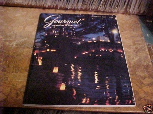 DECEMBER 1980 GOURMET MAGAZINE OF GOOD LIVING