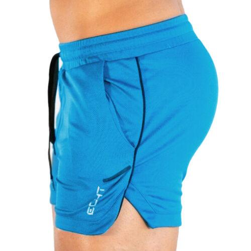 Herren Sommer Sports Fitness Gym Shorts Jogginghose Trainingshose Strand Hosen