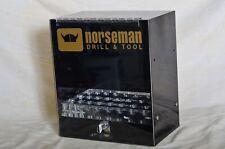 Norseman Drill Amp Tool Silver Deming Counter Display 2 Keys