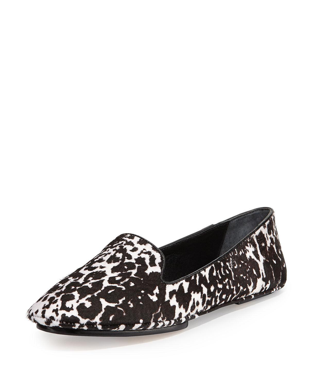 Saint & Libertine Fierce Calf Hair Loafer, Leopard SIZE 6.5 M 6 1/2