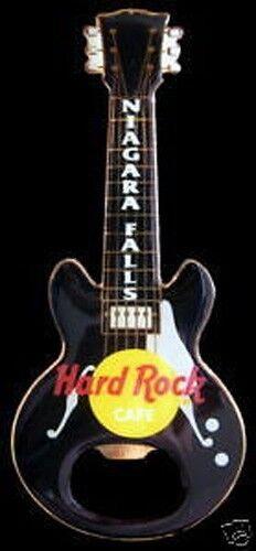 Hard Rock Cafe NIAGARA FALL Bottle Opener GUITAR MAGNET