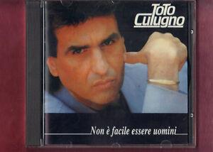 TOTO-CUTUGNO-NON-E-039-FACILE-ESSERE-UOMINI-TIMBRO-SIAE-A-SECCO-CD-APERTO