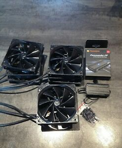 9 ventilateurs pc 120mm + hub ventilateurs thermaltake commander