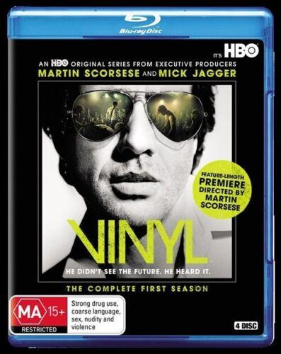 1 of 1 - Vinyl : Series 1 (Blu-ray, 2016, 4-Disc Set) New, ExRetail Stock, Genuine (D120)