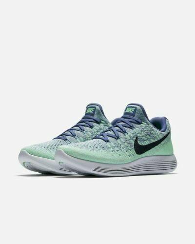 sports shoes f28b8 ffcc9 Nike Lunarepic Low Flyknit 2 Women's Shoes Blue Moon Dark Obsidian 863780  403