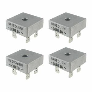 4X-50A-1000V-Metal-Case-Single-Phases-Diode-Bridge-Rectifier-KBPC5010-Y8F9-A2S8