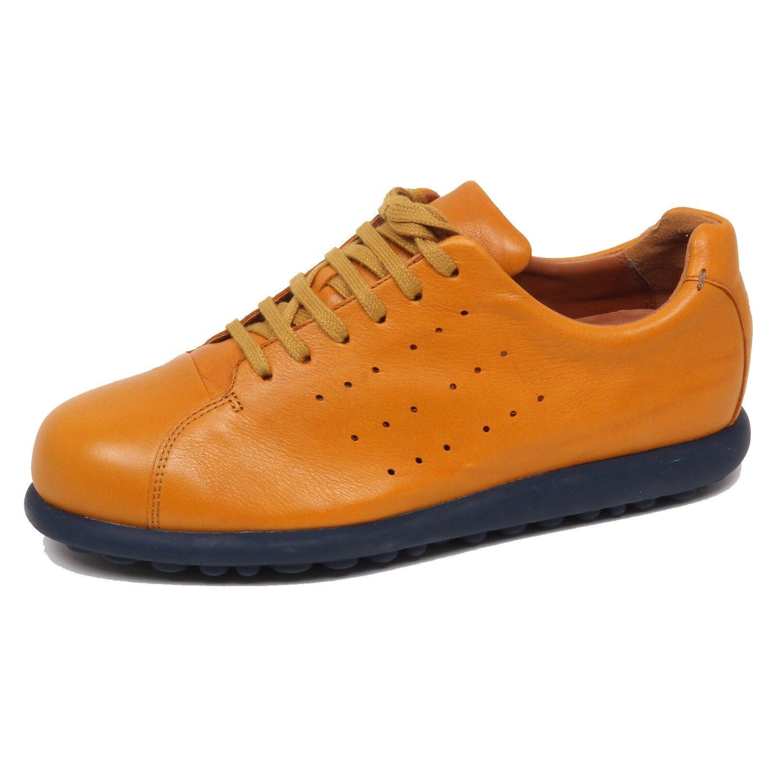 F0718 scarpe da ginnastica uomo dark giallo CAMPER PELOTAS ARIEL sole blu perforated scarpe man | Conosciuto per la sua eccellente qualità  | Uomini/Donne Scarpa