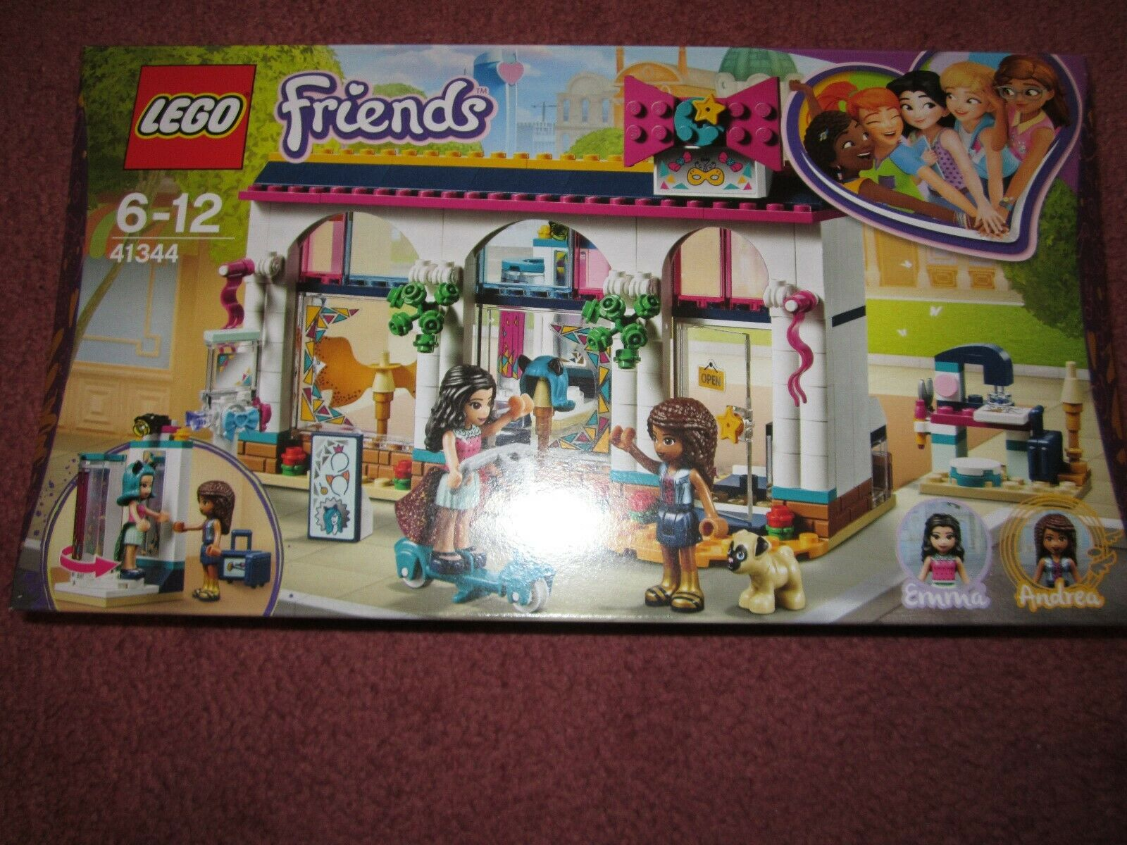 LEGO FRIENDS ANDREA'S ACCESSORIES STORE 41344 - NEW BOXED SEALED
