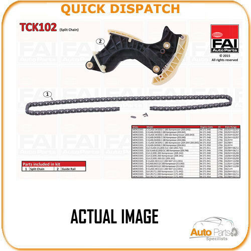 TIMING CHAIN KIT FOR MERCEDES-BENZ C-CLASS 1.8 05/02-05/08 4903 TCK1028