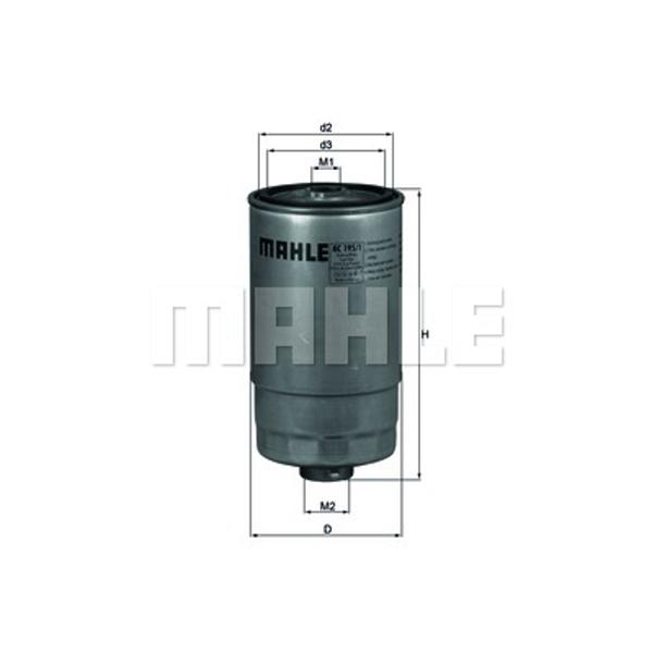 Kraftstofffilter - Mahle KC 195/1