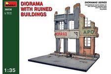Miniart 36036 1/35 Diorama Ruined Building