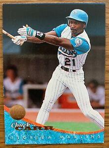 Donruss Baseball Card 1994 (#498 Chuck Carr - Florida Marlins)