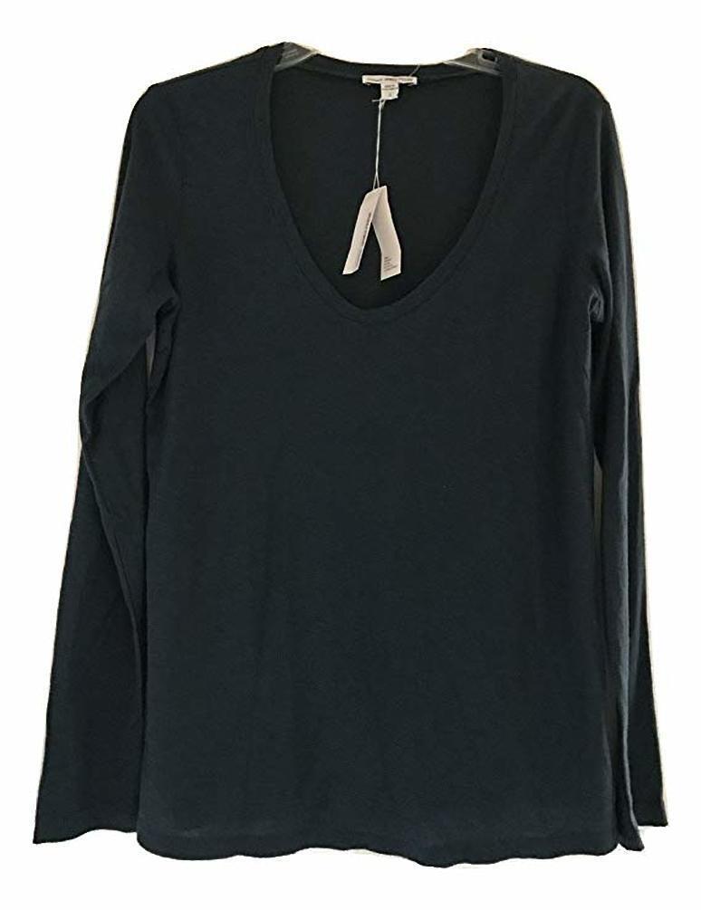 James Perse Longsleeve LAU(Emerald) T-Shirt 4