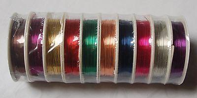 Kupferdraht Schmuckdraht Copper wire kupfer gold silber schwarz 0,2 0,3 0,4 0,5