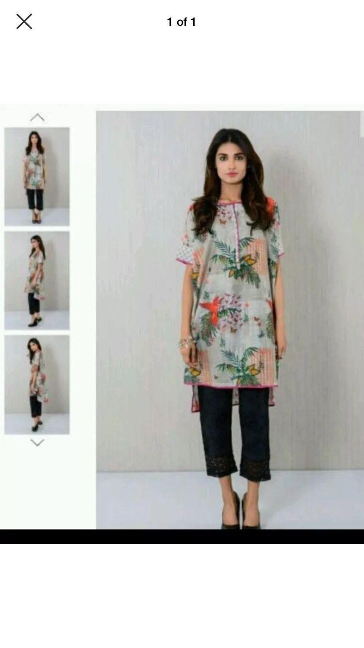 Brand New KHAADI Latest Fashion Printed Kurta ( Ready to Wear)