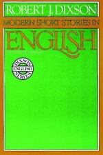 Modern Short Stories in English-ExLibrary
