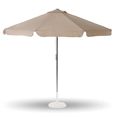 Ombrellone Tarifa 300cm con ventilazione e flap per giardino terrazzo 06663