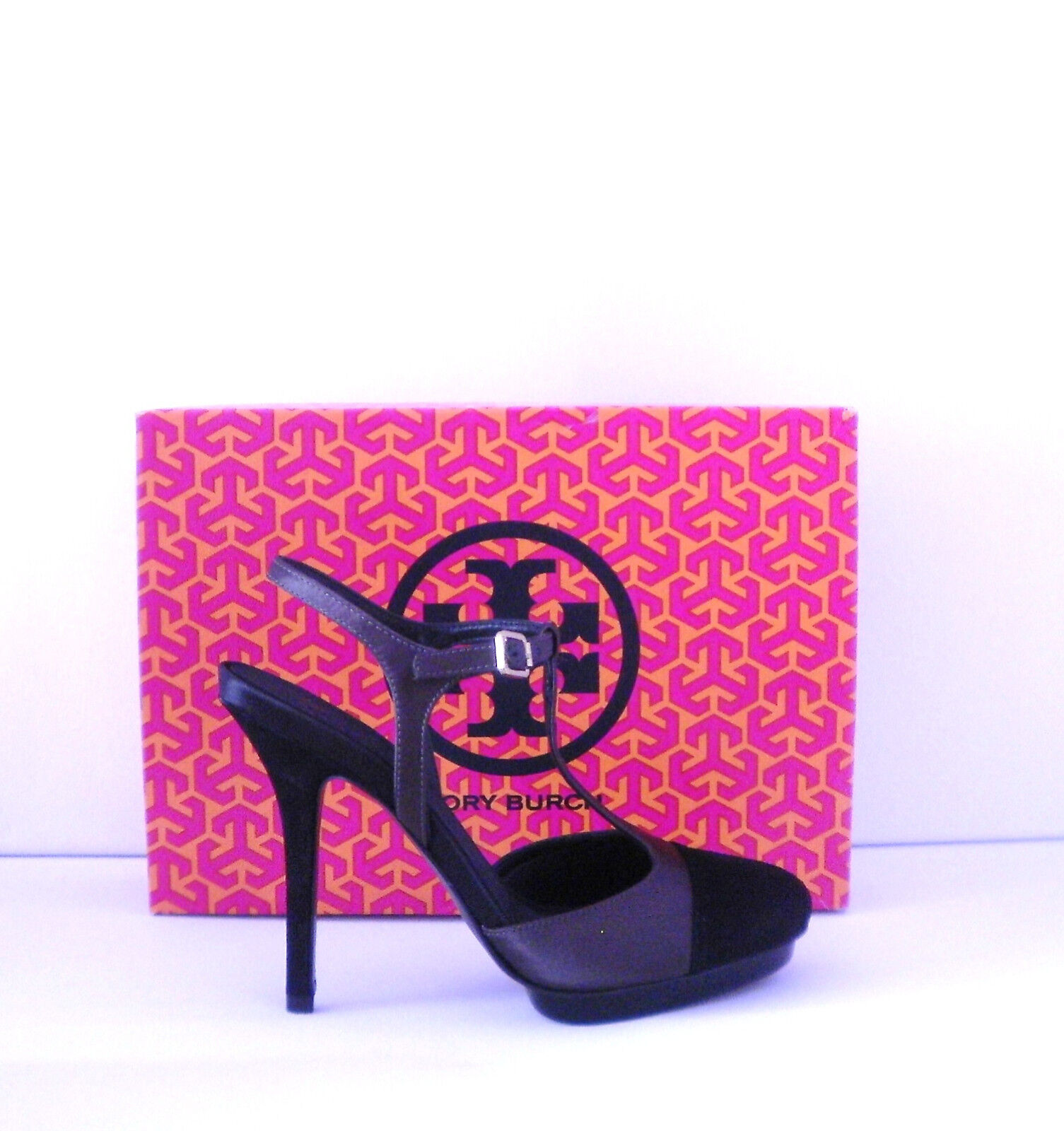 Tory Burch schuhe 8 New With Box  395 395 395 Mandy High Heels 2a01a4