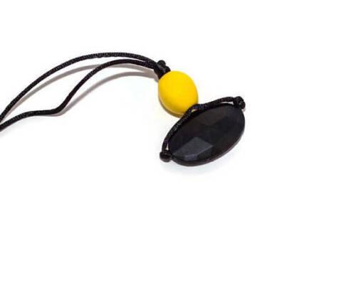 batman tween textured chew necklace sensory chewing necklace Chew necklace