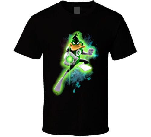Daffy Duck Green Lantern Super Hero T Shirt