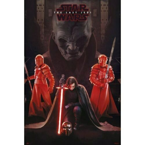 Movie Poster-L... Star Wars Episode VIII The Last Jedi-Supreme Leader Snoke
