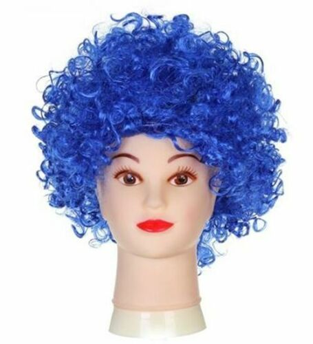 AFRO WIG  MULTI COLOUR 80s CURLY PARTY CLOWN FUNKY DISCO KIDS CHILDS
